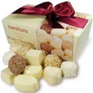 White Chocolate Selection Contains 24 Handmade White Chocolates